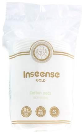 Диски ватные Inseense Gold овальные 40 шт