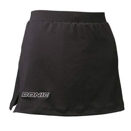 Спортивная юбка DONIC Clip, black, XXS