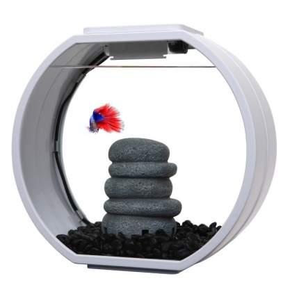 Аквариумный комплекс AA-Aquariums Deco O Mini UPG, белый, 10л
