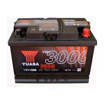 Аккумуляторная Батарея Smf[12v 75ah 650a B13] YUASA YBX3096-075