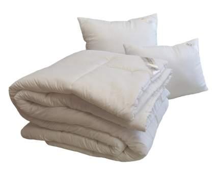 Облегченное двухспальное одеяло SleepMaker Jasmine bio White 172x205см Лебяжий пух (иск.)