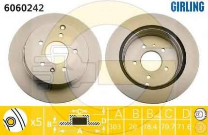 Тормозной диск GIRLING 6060242
