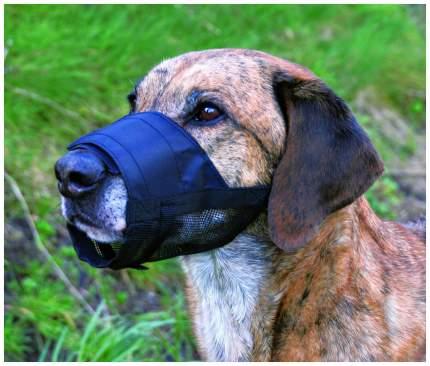 Намордник для собак Trixie, нейлон черный (L)