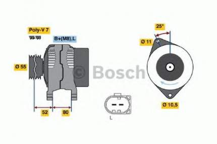 Генератор Bosch 0124325053