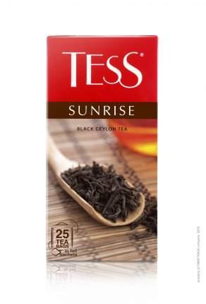 Чай черный Tess sunrise 25 пакетиков