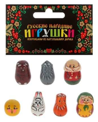 Русские народные игрушки пальчиковый театр Колобок Р-45/766