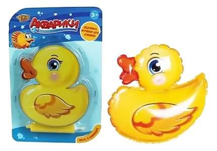 Игрушка для купания Shantou Gepai Утенок-неваляшка надувной M7168-3