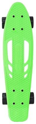 "Скейтборд Y-Scoo Skateboard Fishbone с ручкой 22"" 405-G с сумкой Green Black"
