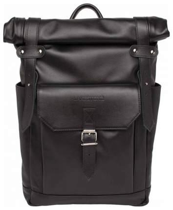 Рюкзак кожаный Lakestone Eliot черный 13 л