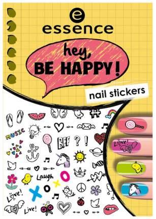 Наклейки для ногтей essence Hey, Be Happy Nail Stickers