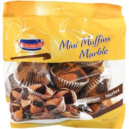 Мини-кексы Kuchen Meister муффины мраморные 225 г