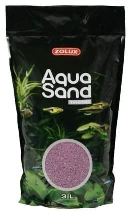Песок Zolux Aquasand Trend Lila Rosa для аквариума лиловый, 3 л (3 л (4,72 кг))