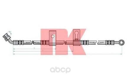 Шланг тормозной системы Nk 853511 передний правый