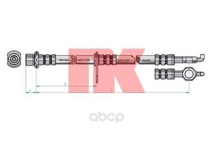 Шланг тормозной системы Nk 8545162 передний правый