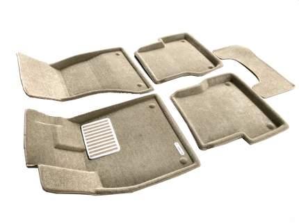 Комплект ковриков в салон автомобиля для BMW Euromat Original Lux (em3d-001205t)