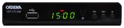 DVB-T2 приставка Cadena CDT-1711SB Black