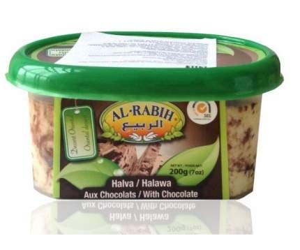Халва Al-Rabih кунжутная шоколадная 200 г