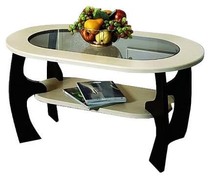 Журнальный столик Олимп-мебель Маджеста-2 TRM_4574-02 100х60х52,2 см, венге/клён азия