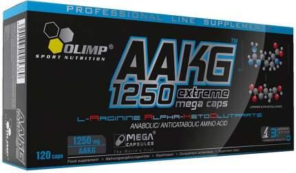 AAKG 1250 Mega Caps Olimp, 120 капсул