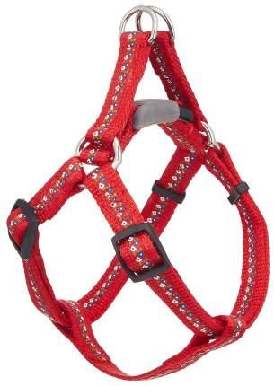 Шлейка для собак Premium Pet Japan АнтиСрыв С силиконовым креплением S 10 кг Красный