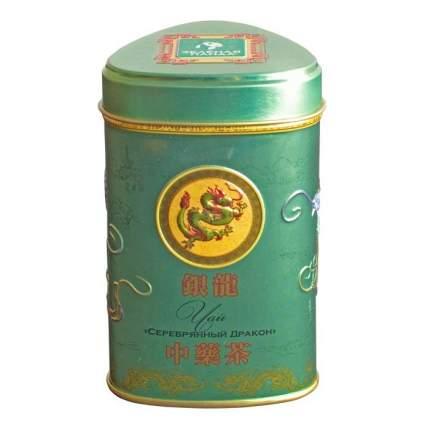 Чай зеленый Зеленая Панда крупнолистовой серебряный дракон с ароматом жасмина 100 г