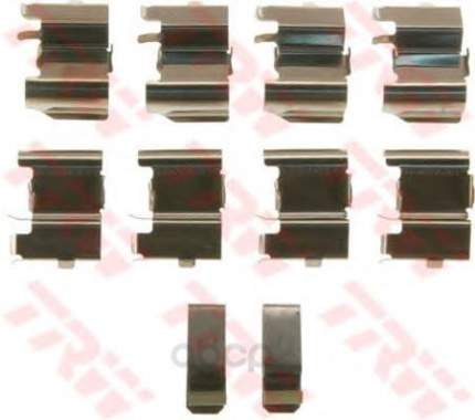 Ремкомплект тормозных колодок mazda cx-7/mpv 2.0-3.0 99 TRW PFK612