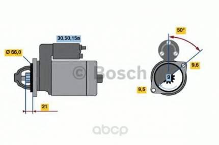 Стартер Bosch 0986012881