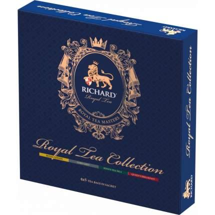 Чай Richard роял ти коллекшн черный ароматизированный ассорти 20 пакетиков