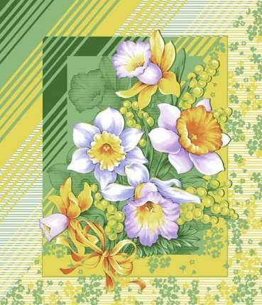 """Полотенце кухонное вафельное """"Утренние цветы"""""""