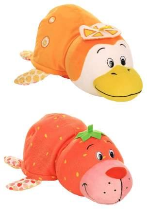 Игрушка-вывернушка 1 TOY Ням-Ням Морской котик-Пингвинчик Клубника-Апельсин 40 см