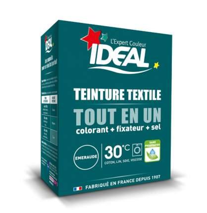 Краска для одежды и тканей Ideal MINI Все в Одном изумрудно-зеленая, 230 г