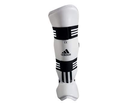 Защита голени и стопы Adidas для тхэквондо WTF Shin Instap Pad Protector белая XS