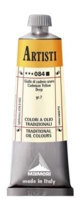 Масляная краска Maimeri Artisti 084 кадмий желтый темный 60 мл