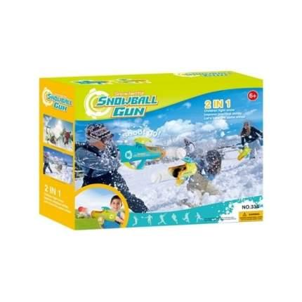 Снежкомет Зимой и летом оружие для стрельбы снежками и шариками 1Toy