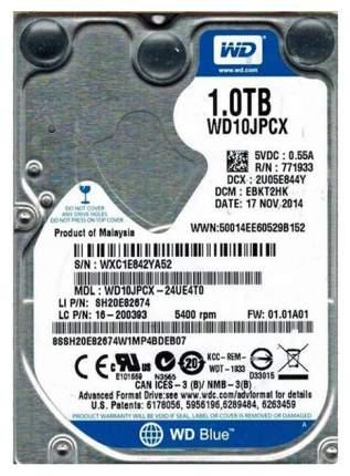 Внутренний жесткий диск Western Digital 1TB (WD10JPCX)