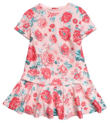 Платье для девочки Pelican GFDT4016 Персиковый р. 116