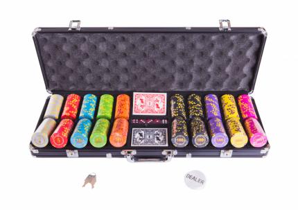 Набор для покера Partida Compas на 500 фишек