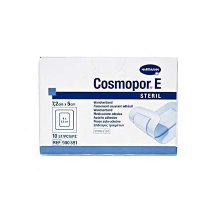 Самоклеящиеся послеоперационные повязки Cosmopor E steril 7,2 х 5 см 10 шт.