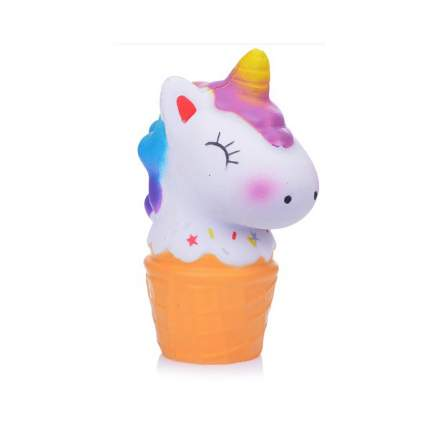 1 TOY Игрушка-антистресс М-м-мняшка. Единорог-мороженое, 12х8х8 см Т14693