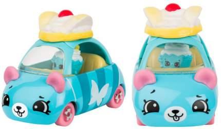 Машинка пластиковая Cutie Cars Fairycake racer с фигуркой Shopkins, 3 сезон
