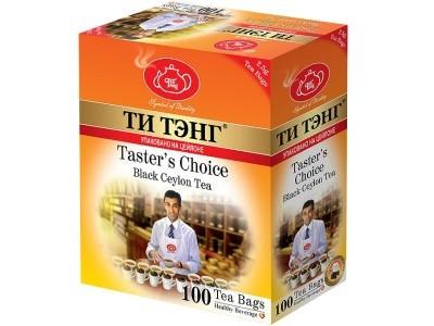 Чай черный в пакетиках для чашки Ти Тэнг Tasters Choice 100*2.5 г