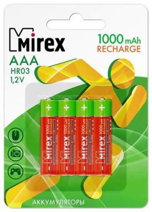 Аккумуляторная батарея Mirex HR03-10-E4 4 шт