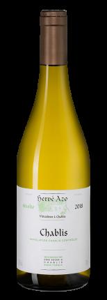 Вино Chablis, Domaine Herve Azo, 2018 г.