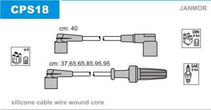 Комплект проводов зажигания JANMOR CPS18