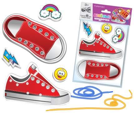 Развивающая игрушка Русский стиль Веселые шнурочки Супер-кеды 7134
