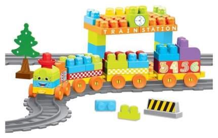 Моя первая железная дорога с конструктором Dolu 89 элементов 335 см DL_5082