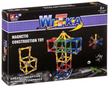 Магнитный конструктор Witka 80 деталей 934