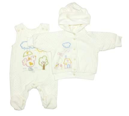 Комплект одежды Осьминожка 518-233В-20/62 белый р.62