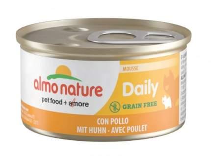 Консервы для кошек Almo Nature Daily курица, 24шт, 85г