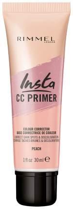Основа для макияжа Rimmel Insta CC Primer Peach